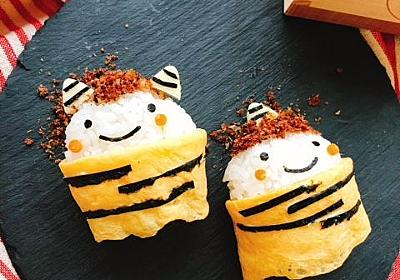 【レシピ動画】節分弁当に!鬼さんおにぎりの作り方&ポイント解説 - お砂糖味醂なし生活!ほっこりおうちごはん