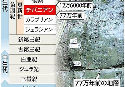 【チバニアン】地球史に「千葉時代」誕生へ 日本初の地質年代名、国際審査でイタリア破る(1/2ページ) - 産経ニュース