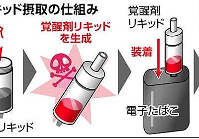 覚醒剤リキッド初摘発 熊本県警 電子たばこで吸引 - 産経ニュース