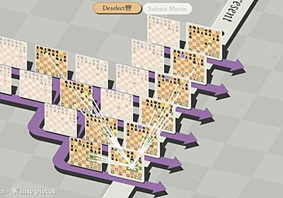 【PCゲーム極☆道】第七十一回『5D Chess With Multiverse Time Travel』 次元・時空跳躍を駆使して戦う異次元チェス