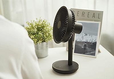 ミニなのにパワフルな風力。充電式コードレスミニ扇風機【F5-FAN】 - Engadget 日本版