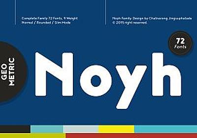 Noyh (Update v1.1) ~ Sans Serif Fonts ~ Creative Market