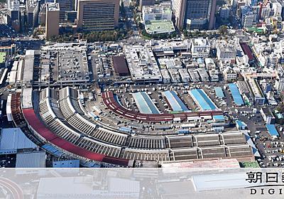 築地市場跡に国際会議・展示場 都が五輪後に再開発方針:朝日新聞デジタル