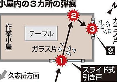 またか住民恐怖 ガラス割れ壁に傷 「自分がいたら」頰こわばらせ 名護・農園に「流弾」 - 琉球新報 - 沖縄の新聞、地域のニュース
