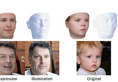 """""""実在しないリアルな顔""""を自在に編集できる「StyleRig」 StyleGANで生成した顔の向き、表情、照明を制御 - ITmedia NEWS"""