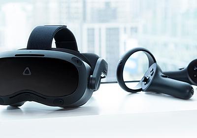 西川善司の3DGE:5K解像度の業務用VR HMD「VIVE Focus 3」体験レポート。VRコントローラのトラッキング精度に驚く