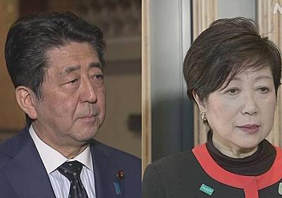 安倍首相 今夜8時から小池都知事と会談 | NHKニュース
