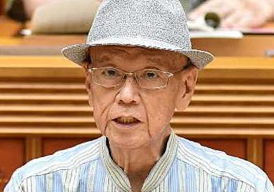 翁長沖縄知事が死去 67歳 辺野古新基地反対を貫く | 沖縄タイムス+プラス ニュース | 沖縄タイムス+プラス