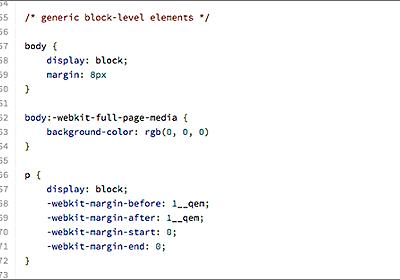 Chrome, Safari, Firefox, Edge 各ブラウザごとのデフォルトのスタイルシート、user agent stylesheetのまとめ | コリス