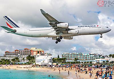 世界のトンデモ空港 手を伸ばせば飛行機に届く? 航空ファンの聖地、その実態   乗りものニュース