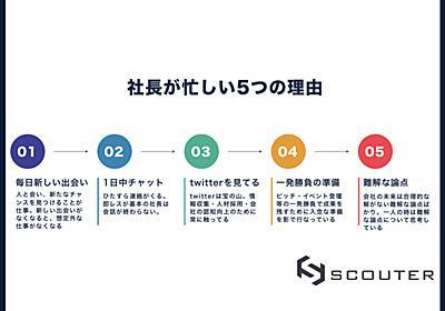【徹底解説】COOが社長の忙しい5つの理由を説明します - 株式会社SCOUTERのCOOが人事を尽くして考えた