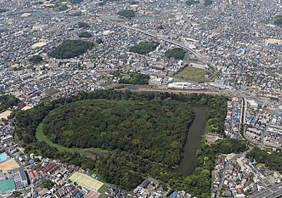 世界遺産の上空に気球 大阪府と堺市が検討 大山古墳の「鍵穴」も一望 - 毎日新聞