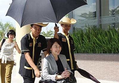 車いすの母とミャンマーに行ったら、異国の王様だと思われた 岸田 奈美@ミライロ note