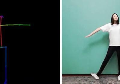 音楽からダンスを自動生成、J-POPも踊れる「Dance Revolution」 Microsoftなど開発 - ITmedia NEWS