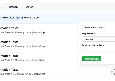 GitHub Actions: Manual triggers with workflow_dispatch The GitHub Blog