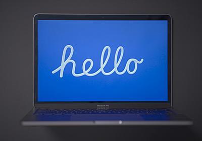 M1搭載の新型iMac限定スクリーンセーバ「Hello」を他のMacでも使えるようにする - こぼねみ