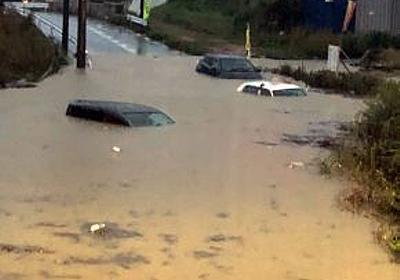 沖縄県本島中南部で記録的大雨 10月最大、那覇空港で142・5ミリ 県道が冠水  - 琉球新報