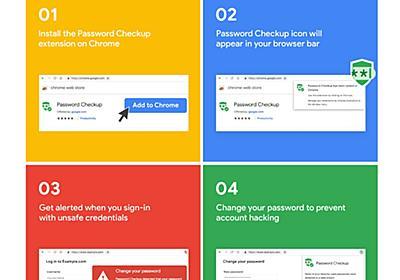 流出したパスワードの使用に警告、Google Chromeの拡張機能「Password Checkup」 - ITmedia エンタープライズ