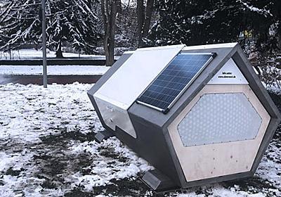 ホームレスの凍死を防ぐ「睡眠ポッド」がドイツで導入される - ナゾロジー