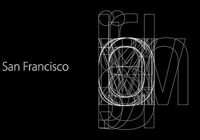Apple の新フォント San Francisco の秘密. iOS 9 が一般公開されました。気づきにくいところですが、実はこの iOS… | by Akinori Machino | Medium Japan | Medium
