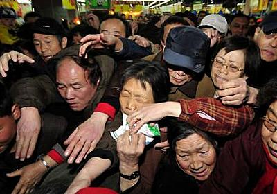 中国の男性が塩6.5トン買いだめ、放射能パニック収まり困惑   世界のこぼれ話   Reuters