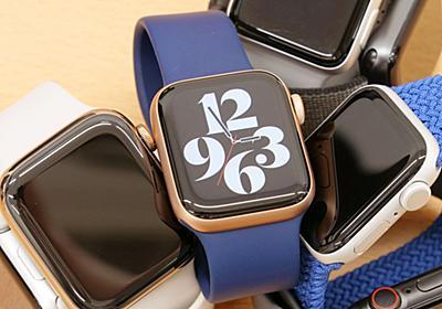 2020年最新モデル「Apple Watch Series 6」はどこが優れているのか?各モデルと比較してみた - GIGAZINE