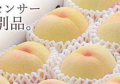 お中元には岡山の白桃を|岡山フルーツ直送便