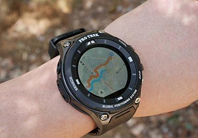 03dab6bc0d 【地図ウォッチ】 腕時計感覚でオフライン地図が使えるGPSウォッチ、カシオ「