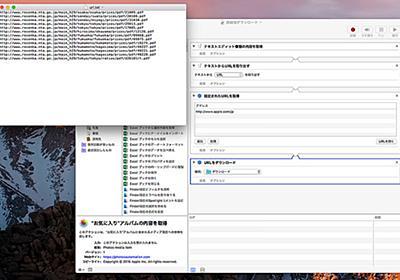MacのAutomatorで路線価図をまとめてダウンロードするワークフローをつくってみた | Blog.IKUBON.com