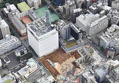 日テレ跡地に超高層ビル計画 名門女子校が異議 「ここは赤坂じゃない」:東京新聞 TOKYO Web