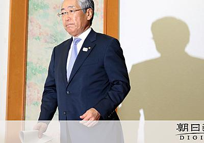 竹田会長に厳しい声 「質問なし、会見と呼べるのか」:朝日新聞デジタル