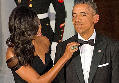 夫人が告白「オバマ前大統領は8年間同じスーツを着ていたのに気づかれなかった」 - フロントロウ