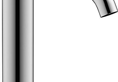 レバーハンドルが指に沿う混合水栓|日経アーキテクチュア
