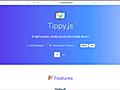 [JS]ツールチップの実装に迷った時に!依存なしで、さまざまなツールチップを実装できる軽量スクリプト -Tippy.js   コリス
