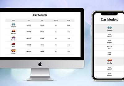 CSSで見出し固定+レスポンシブ対応の表を作成 | Webクリエイターボックス