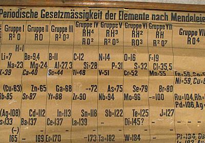世界最古の「周期表」が発見される - GIGAZINE