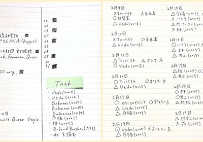 1年先までタスク丸わかり。簡単なのに最強のアナログ手帳「バレットジャーナル」がすごい - STUDY HACKER|これからの学びを考える、勉強法のハッキングメディア