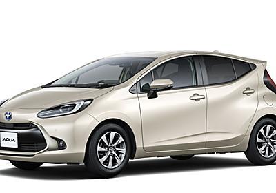 トヨタ、新型「アクア」は燃費を20%改善し価格は198万円から 革新的な新型バッテリ「バイポーラ型ニッケル水素電池」世界初採用 - Car Watch
