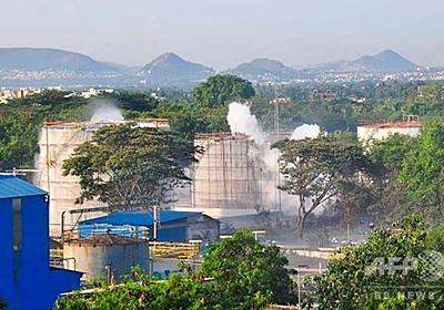 印工場でガス漏れ、11人死亡 1千人搬送 コロナでタンク放置か 写真9枚 国際ニュース:AFPBB News