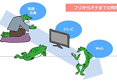 「オチまでゼロ秒」Webクリエイティブの四大原理を公開 知れば誰でもコンテンツが作れる (3/3):MarkeZine(マーケジン)