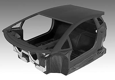 Lamborghini ランボルギーニ フルカーボンファイバーのモノコックを公開 - Web Magazine OPENERS(ウェブマガジン オウプナーズ)