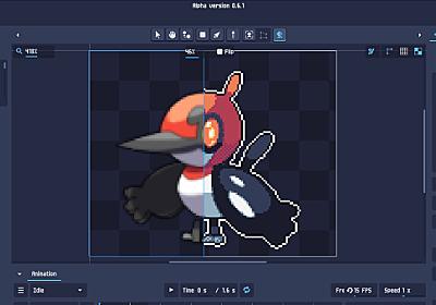 ピクセルアート風アニメーションの作成を強力に進化させる「PixelOver」 – IndieGamesJp.dev