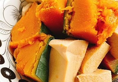南瓜と高野豆腐の煮物(動画レシピ)/Simmered pumpkin and Kouyadofu. - お砂糖味醂なし生活!ほっこりおうちごはん