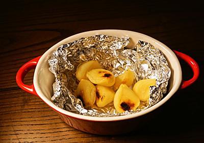 【材料ニンニクのみ】ホックホクで美味しい!にんにくホイル焼きのレシピ - はらぺこグリズリーの料理ブログ