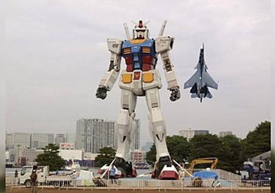 大体の人が想像するガンダムと戦闘機のサイズ感と実際に比較してみたサイズ感の落差が激しすぎた