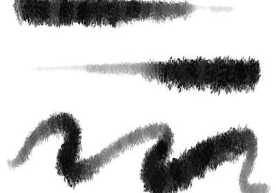 Photoshopでリアルな水墨画風のブラシを作る方法 | 彦左虎肉丸
