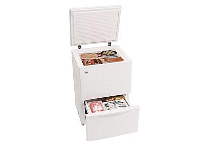 ハイアール、上開き/引き出し式で食材を出し入れしやすい2段冷凍庫 - 家電 Watch
