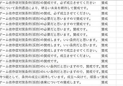 香川県ゲーム規制条例「パブコメ」…LINEのチームが分析、シンポで発表へ - 弁護士ドットコム