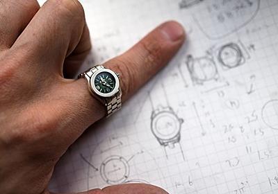 日本発、指にはめるという新感覚の「指」時計 moco(モコ)   Kickstarter fan!