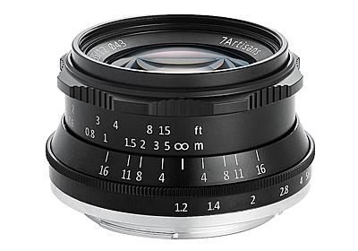 7Artisans、APS-C対応の35mm F1.2単焦点レンズ - デジカメ Watch